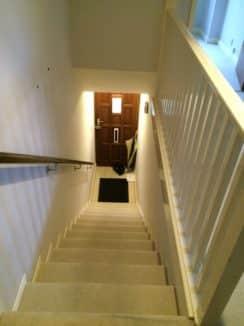 Old stair carpet