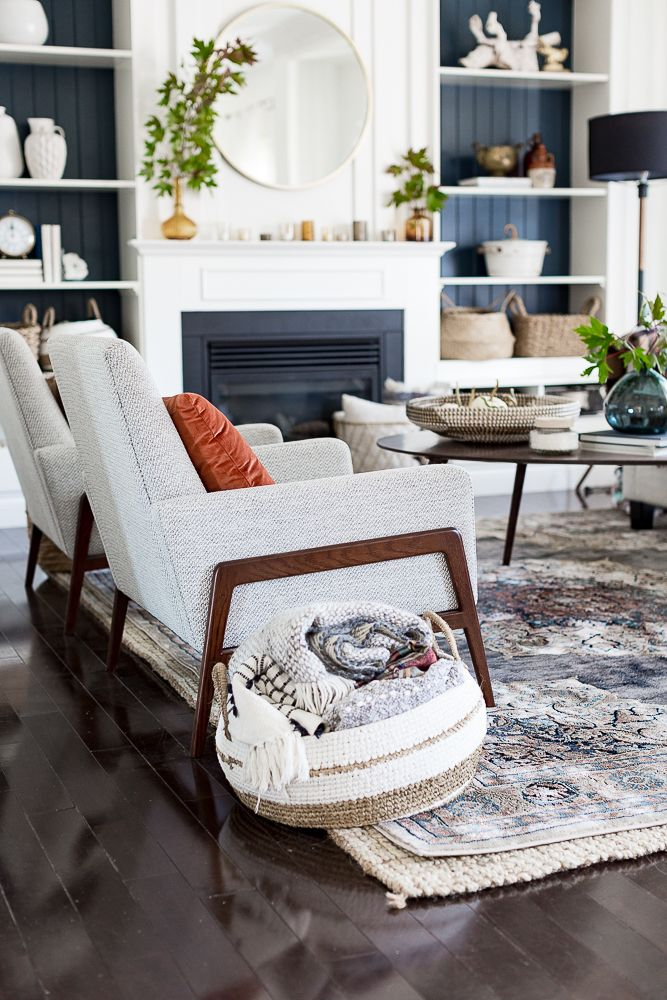 Modern Fall Living Room Decor