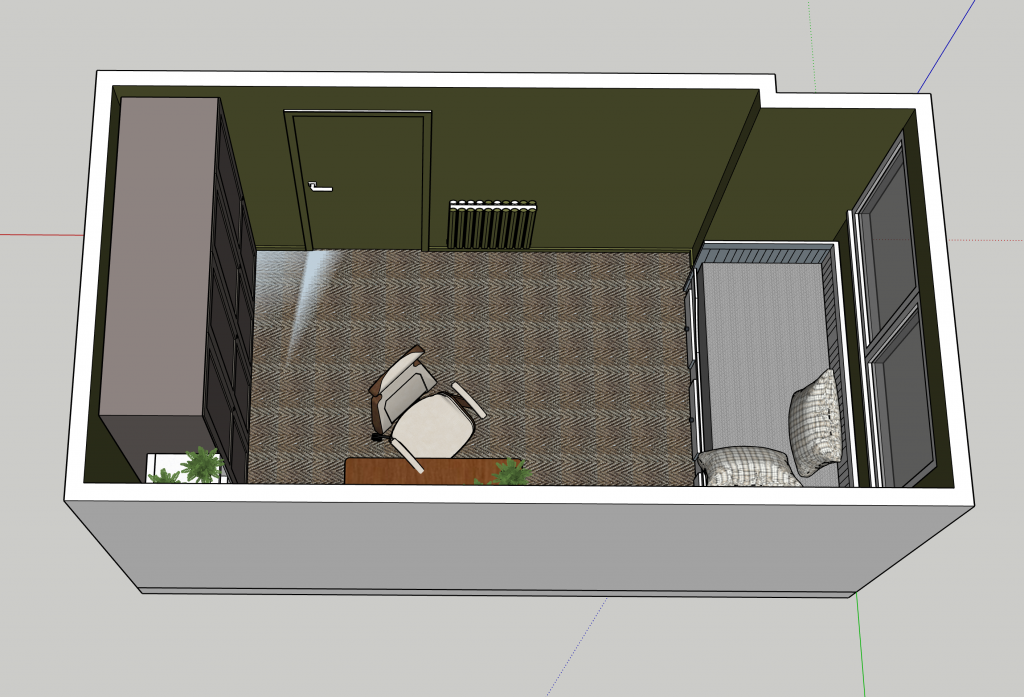 SketchUp Pro 3D model