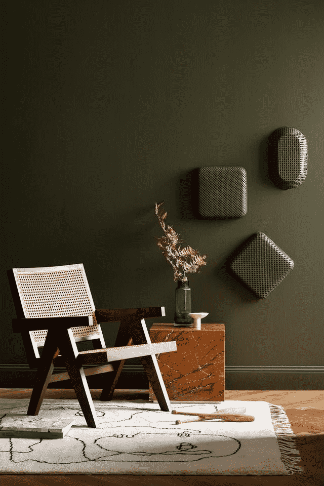 Calm paint colours for a soothing space
