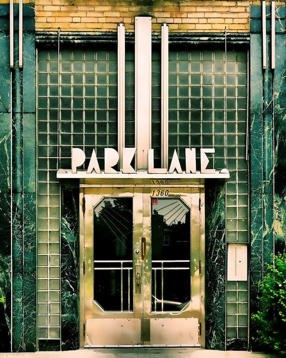 Montreal photography geometric print art deco architecture