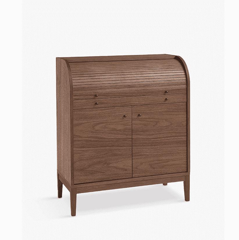 John Lewis dark wood bureau