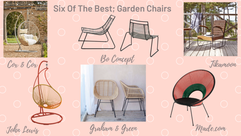Six Of The Best; Garden Chairs