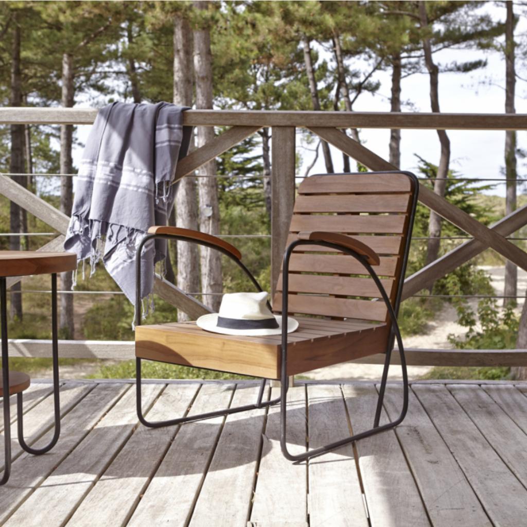 Tikamoon Key Wood outdoor chair