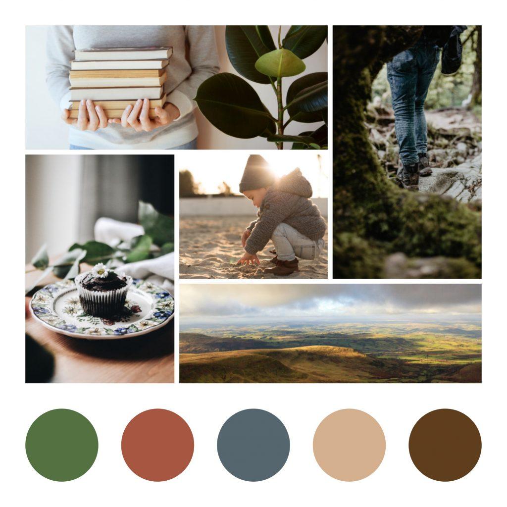 Creating a colour palette