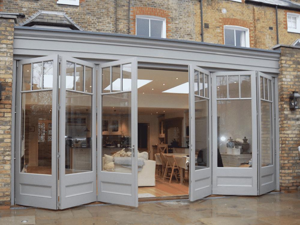 Bi-fold doors by Just Roof Lanterns