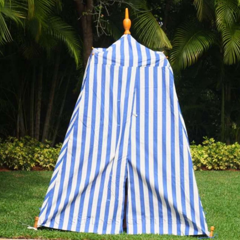 Beach tent from The Stripes Company